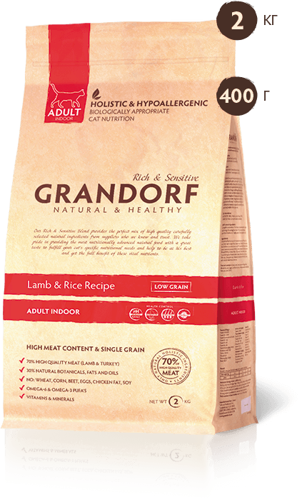Grandorf Indoor Lamb & Rice