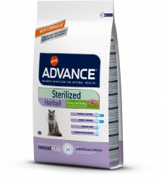 Advance Sterilised Hairball Turkey & Barley