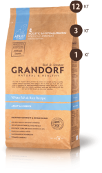 Grandorf Adult All Breeds White Fish & Rice