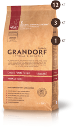 Grandorf Adult All Breeds Duck & Potato Grain Free