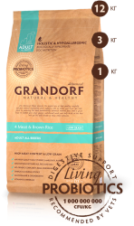 Grandorf Adult All Breeds 4 Meat & Brown Rice