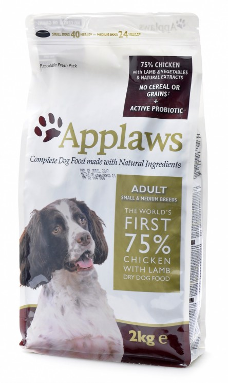 Applaws Adult Small & Medium Breed Grain Free with Chicken & Lamb