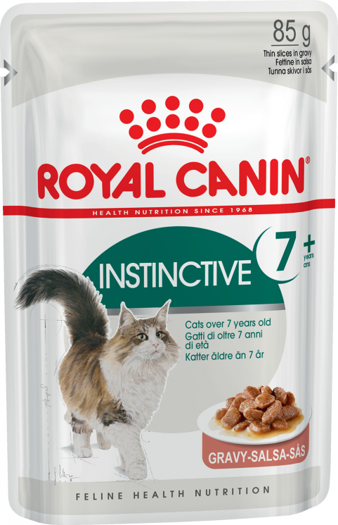 Royal Canin Instinctive +7 (в соусе) 12*85г