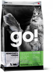 Go! Sensitivity + Shine Grain Free Freshwater Trout&Salmon Cat Recipe