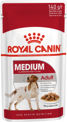 Royal Canin Medium Adult (в соусе) 10x140г