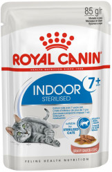 Royal Canin Indoor Sterilized 7+ (в соусе) 12*85г