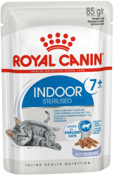 Royal Canin Indoor Sterilized 7+ (в желе) 12*85г