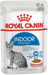 Royal Canin Indoor Sterilized (в соусе) 12*85г