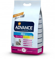 Advance Mini Mature 8+ Chicken & Rice