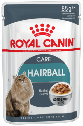 Royal Canin Hairball Care (в соусе) 12*85г