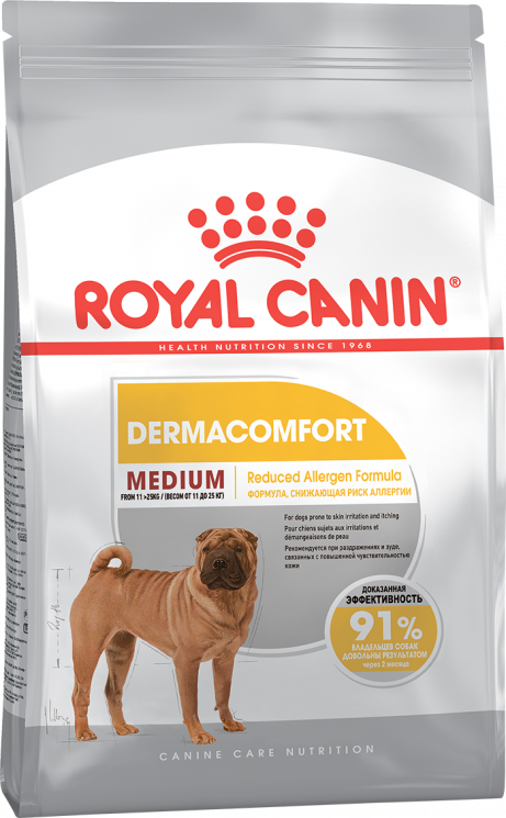 Royal Canin Medium Dermacomfort