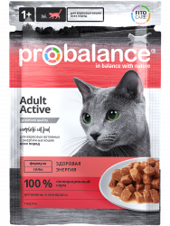 ProBalance Adult Cat Active (пауч)