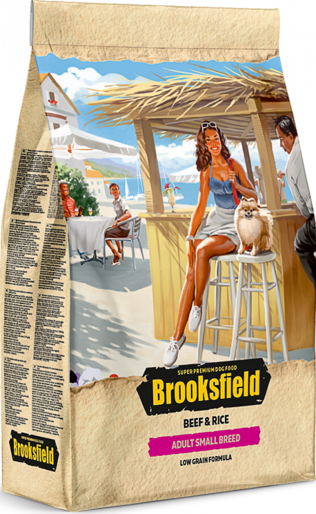 Brooksfield Adult Small Breed Beef & Rice